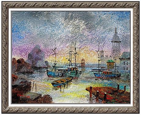 """Original Por of Tallinn"" by Antole Kranyansky"