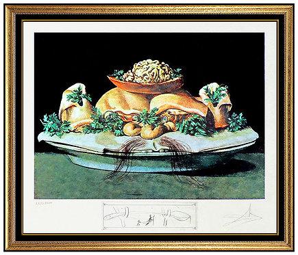 """Les Suprenes de Maillaise Liliputiens"" by Salvador Dali"