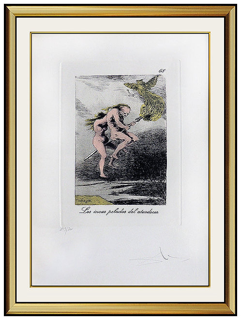 """Plate 13"" by Salvador Dali"