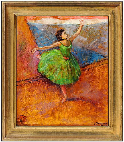"""Original Ballerina"" by Louis Kronberg"