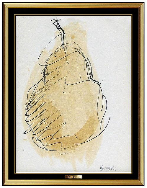 """Original Luscious Pear"" by Robert Kulicke"