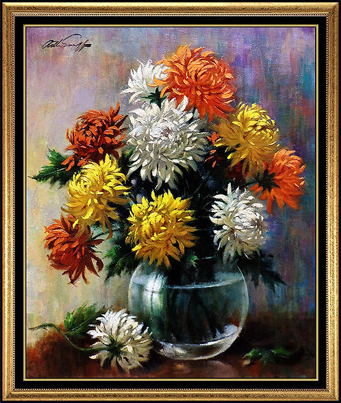 """Hardy Mums"" by Arthur Sarnoff"