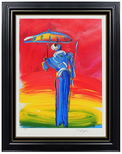 """""""Sage with Umbrella"""" by Peter Max"""