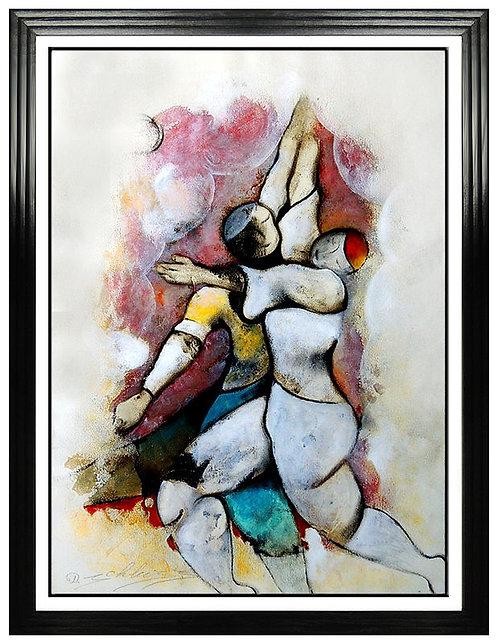 """Original Dancing to Music"" by David Schluss"