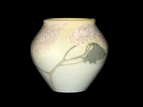 """Floral Ceramic Vase"" by Rookwood - Edward Diers"