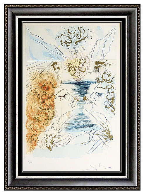 """Let Him Kiss Me"" by Salvador Dali"