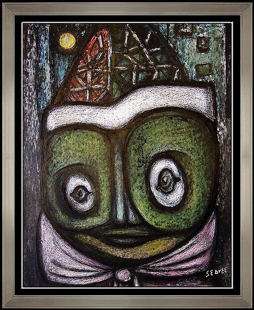"""Original Harlequin"" by Charles Sebree"