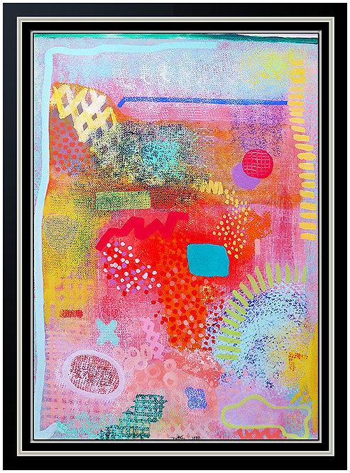 """Original Field Series"" by Robert Natkin"
