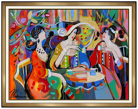 """""""Original Cafe of Color"""" by Isaac Maimon"""