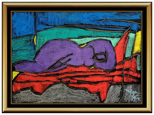 """""""Original Nude in Repose"""" by William Tolliver"""