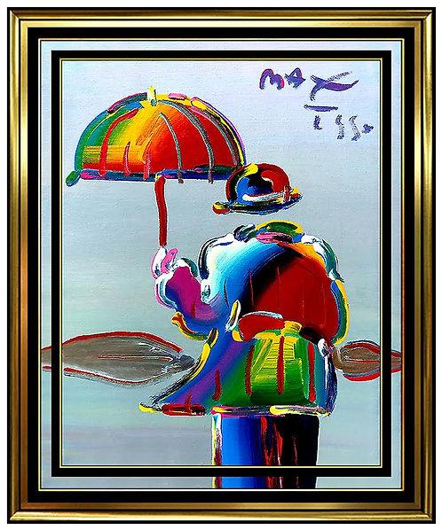"""Original Umbrella Man"" by Peter Max"