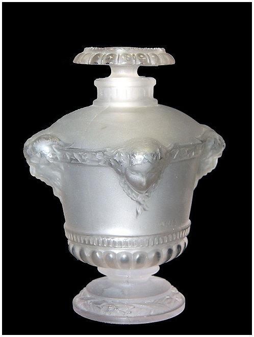 """""""Bouquet de Faunes Perfume Bottle & Stopper for Guerlain Paris"""" by Rene Lalique"""