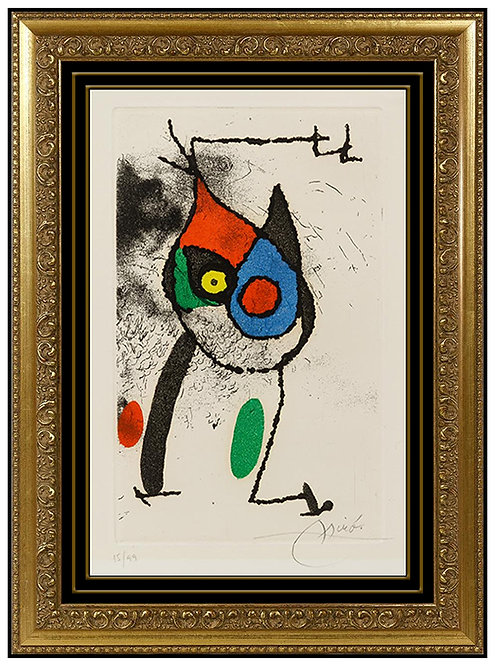 """""""Les Magies"""" by Joan Miro"""
