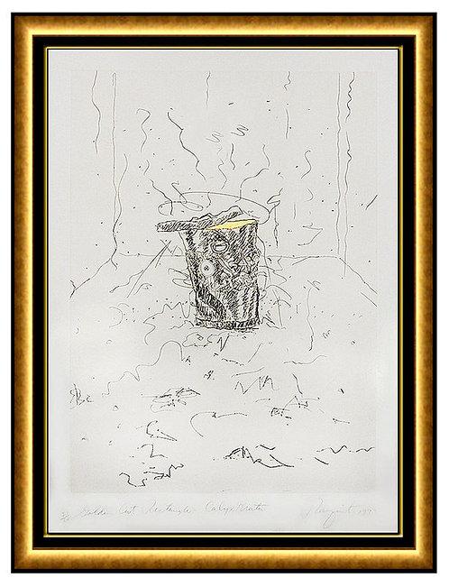 """Golden Cut Rectangle Calyx-krater"" by James Rosenquist"