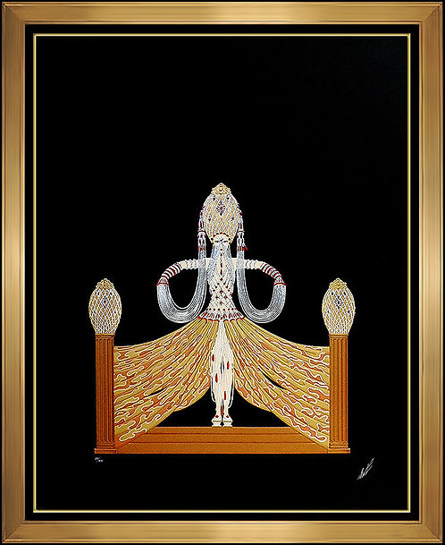 """Enchantress"" by Erte"