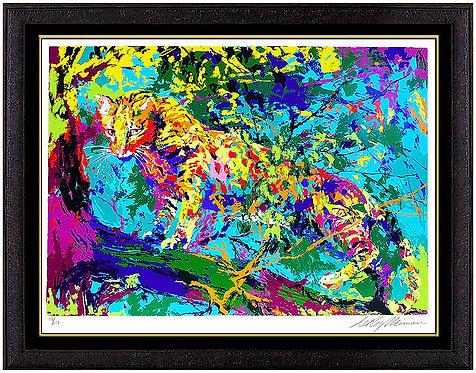 """""""Ocelot"""" by Leroy Neiman"""