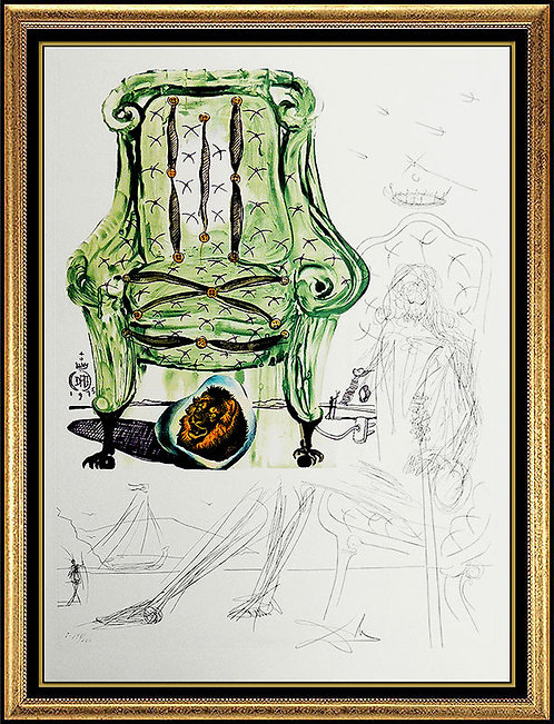 """Breathing Pneumatic Armchair"" by Salvador Dali"