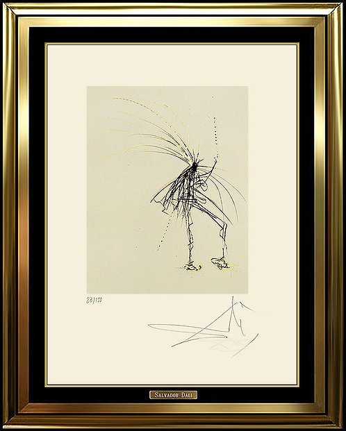 """Silhouette"" by Salvador Dali"