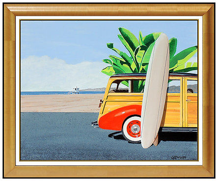 """Original Venice Beach Woody"" by Harold Cleworth"