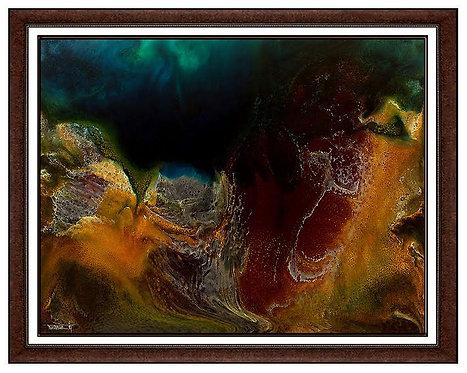 """""""Original Ocean Waters"""" by Leonardo Nierman"""