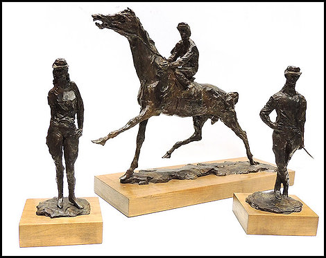 """Horse Racing Suite"" by Leroy Neiman"