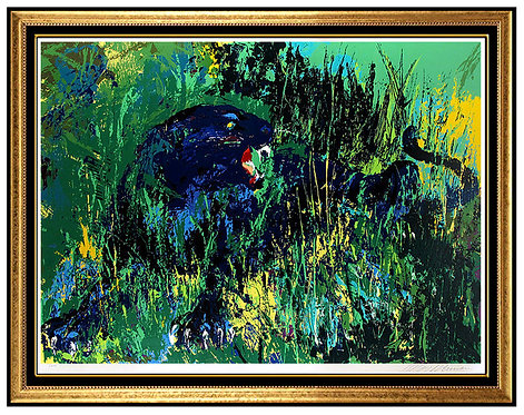 """Black Panther"" by Leroy Neiman"