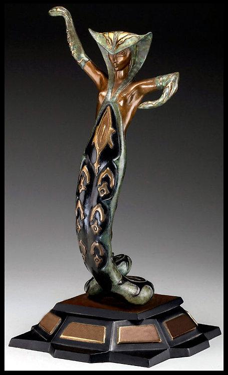 """""""La Jalousie - Sculpture"""" by Erte"""