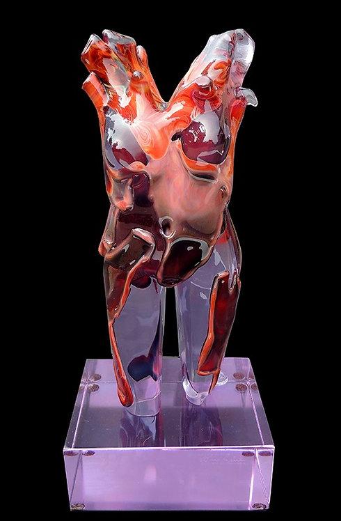 """Original Female Abstract Torso"" by Dino Rosin"