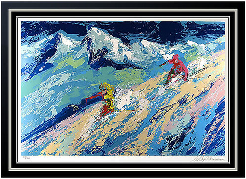 """""""Downers"""" by Leroy Neiman"""