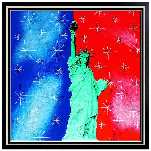"""Original Statue of Liberty"" by Steve Kaufman"