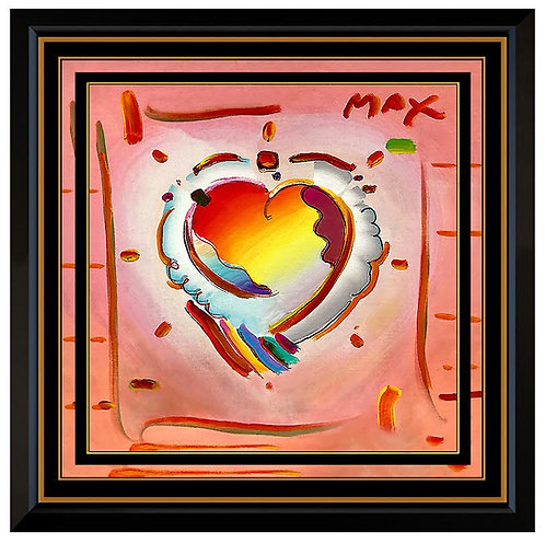 """Original Pop Art Heart"" by Peter Max"