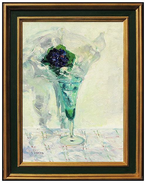 """Original Happy Hour Flower"" by Gaston Sebire"