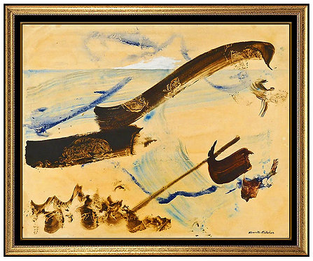 """Sea Panel Original"" by Kenneth Callahan"