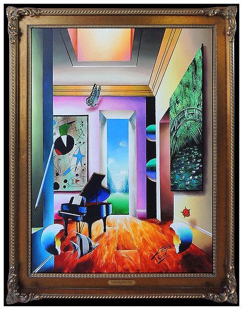 """Original Homage to Miro"" by Fernando Ferjo"