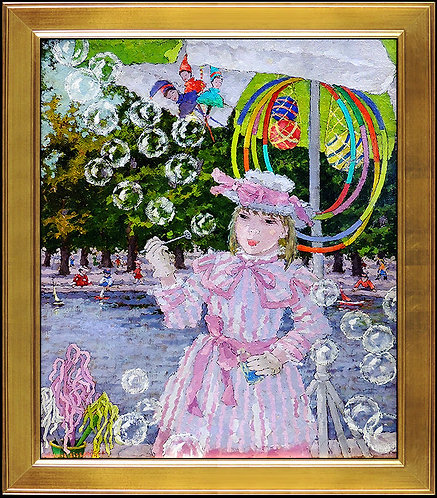 """""""Les Bulle de Savon"""" by Suzanne Eisendieck"""