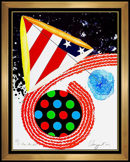 """A Free For All"" by James Rosenquist"