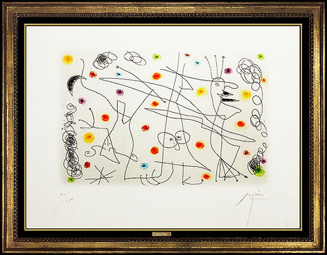"""Strip-Tease"" by Joan Miro"