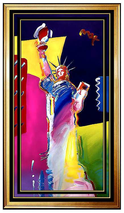 """""""Statue of Liberty"""" by Peter Max"""
