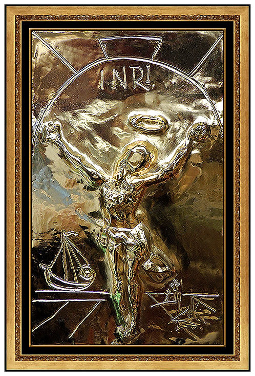 """Christ of Saint John of the Cross"" by Salvador Dali"
