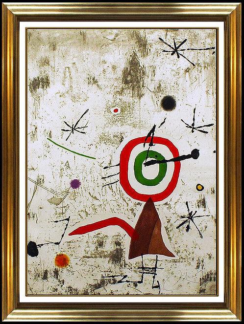 """""""Peronages I Estels VII"""" by Joan Miro"""