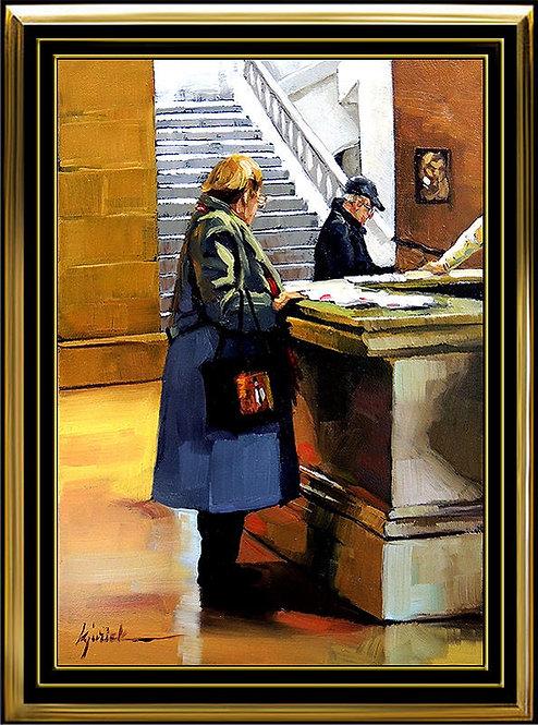 """Tickets Please"" by Karin Jurick"