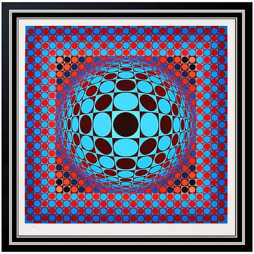 """""""Hang"""" by Victor Vasarely"""