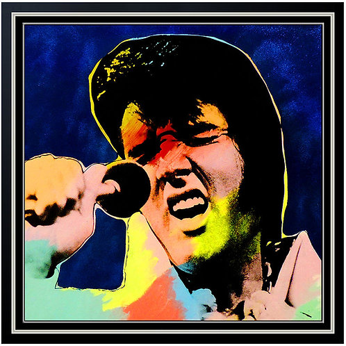 """Elvis"" by Steve Kaufman"