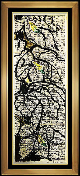 """Original Yucca 4"" by Robert Kushner"