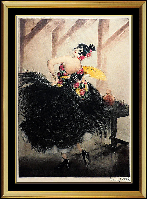 """Carmen"" by Louis Icart"