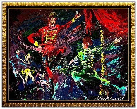 """Dancers"" by Leroy Neiman"