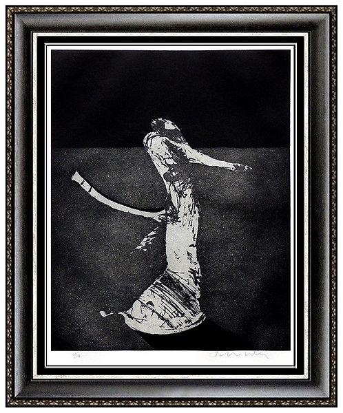 """""""Mystery Portrait in Barcelona"""" by Fritz Scholder"""