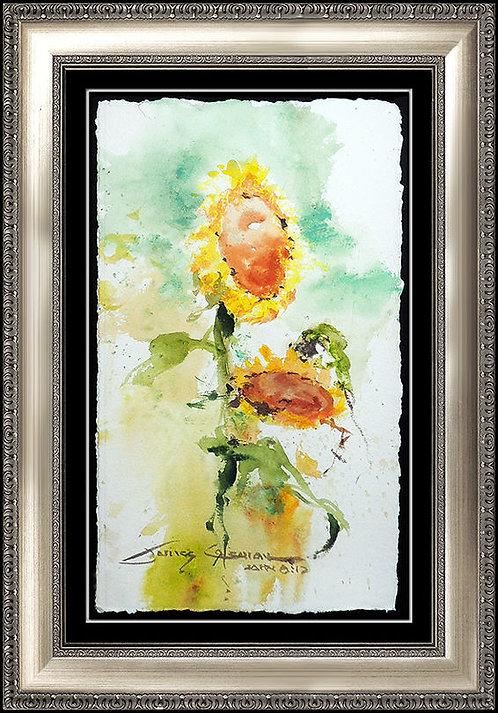 """Original Tuscan Sunflower"" by James Coleman"