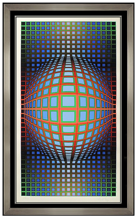 """Stretch Vega"" by Victor Vasarely"