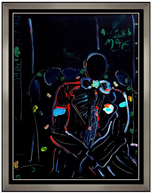 """Deco Man Original"" by Peter Max"